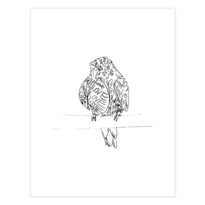 LOVEbird Home Fine Art Print by jAM_Aidan Shop