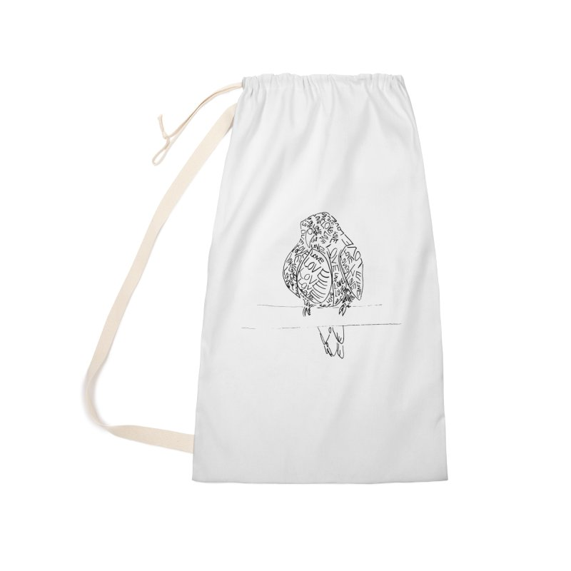 LOVEbird Accessories Laundry Bag Bag by jAM_Aidan Shop