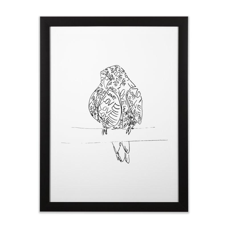 LOVEbird Home Framed Fine Art Print by jAM_Aidan Shop