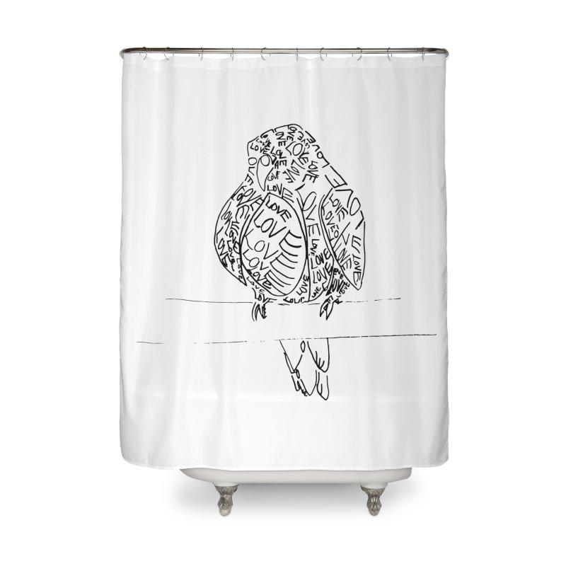 LOVEbird Home Shower Curtain by jAM_Aidan Shop