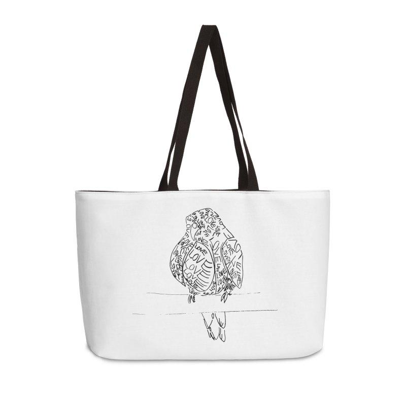 LOVEbird Accessories Weekender Bag Bag by jAM_Aidan Shop