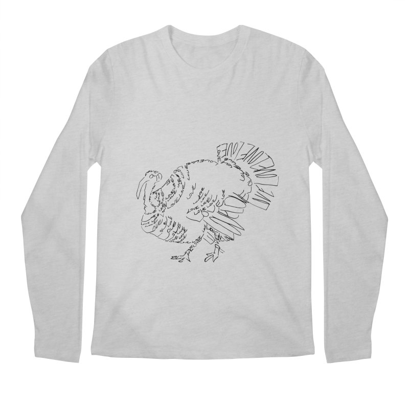 LOVEturkey Men's Regular Longsleeve T-Shirt by jAM_Aidan Shop