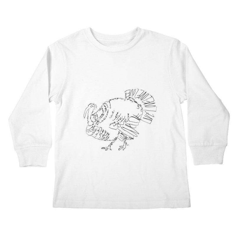 LOVEturkey Kids Longsleeve T-Shirt by jAM_Aidan Shop