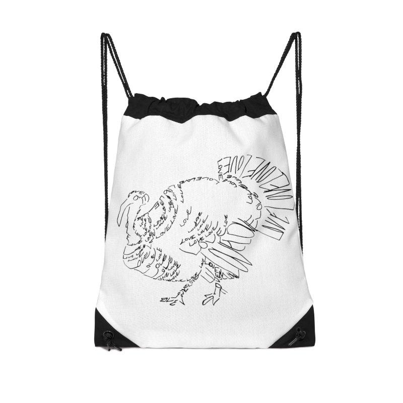 LOVEturkey Accessories Drawstring Bag Bag by jAM_Aidan Shop