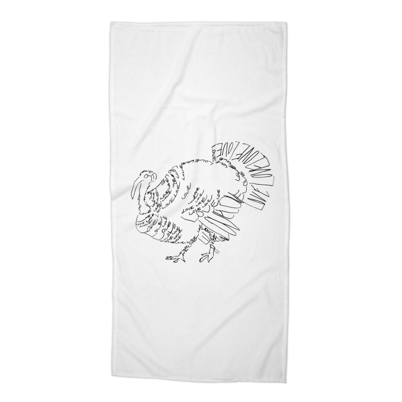 LOVEturkey Accessories Beach Towel by jAM_Aidan Shop