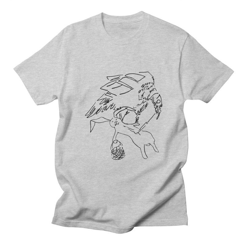 LOVEvulture having a bunny snack Men's Regular T-Shirt by jAM_Aidan Shop