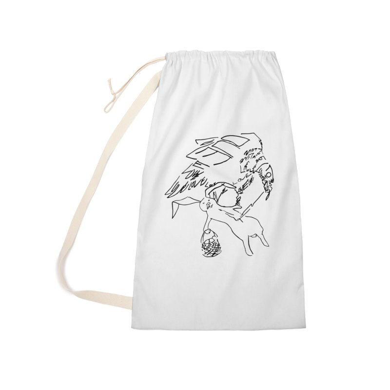 LOVEvulture having a bunny snack Accessories Laundry Bag Bag by jAM_Aidan Shop