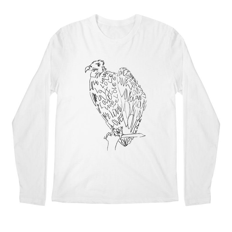 LOVEvulture Men's Regular Longsleeve T-Shirt by jAM_Aidan Shop