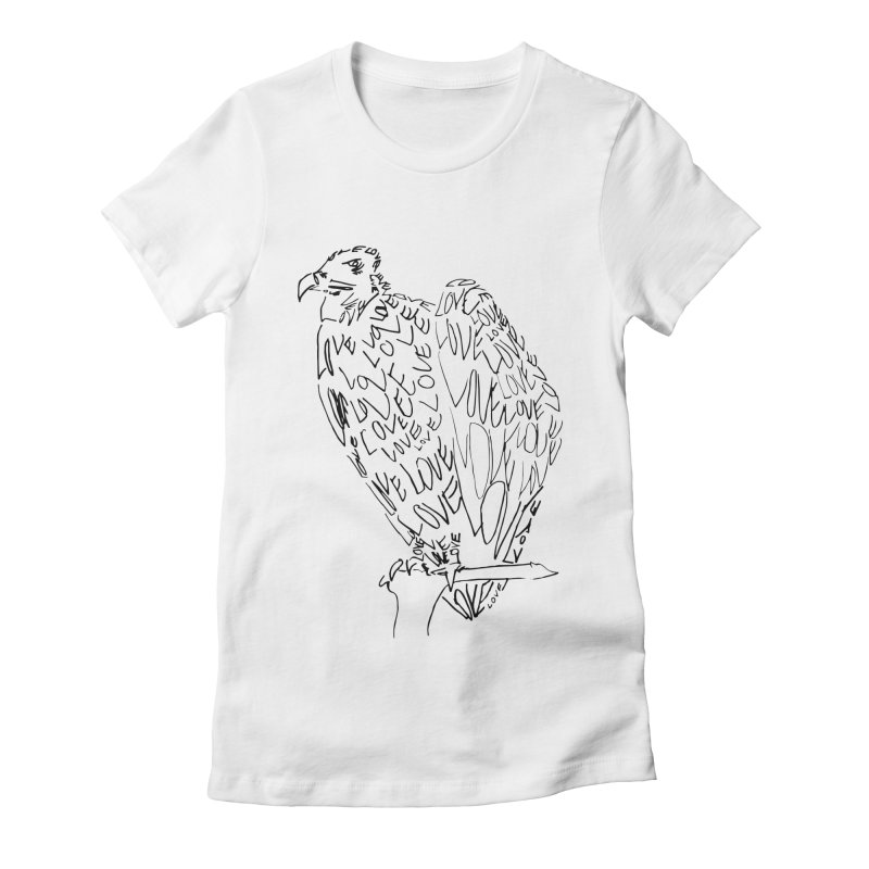 LOVEvulture Women's Fitted T-Shirt by jAM_Aidan Shop