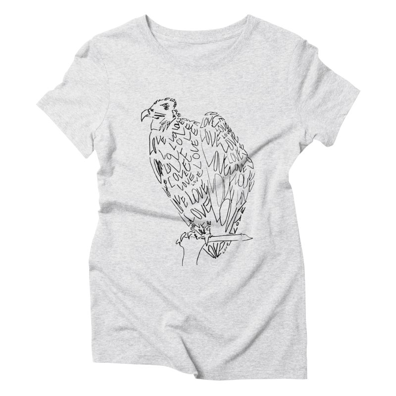 LOVEvulture Women's Triblend T-Shirt by jAM_Aidan Shop