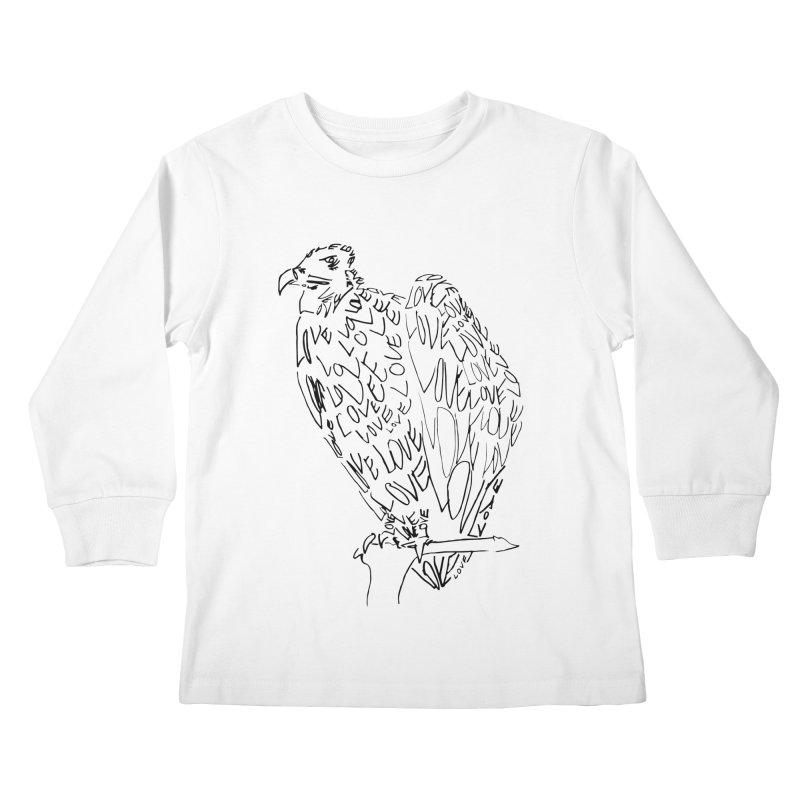 LOVEvulture Kids Longsleeve T-Shirt by jAM_Aidan Shop