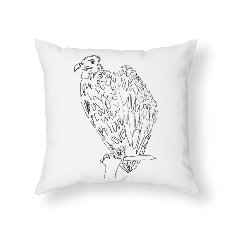 LOVEvulture Home Throw Pillow by jAM_Aidan Shop