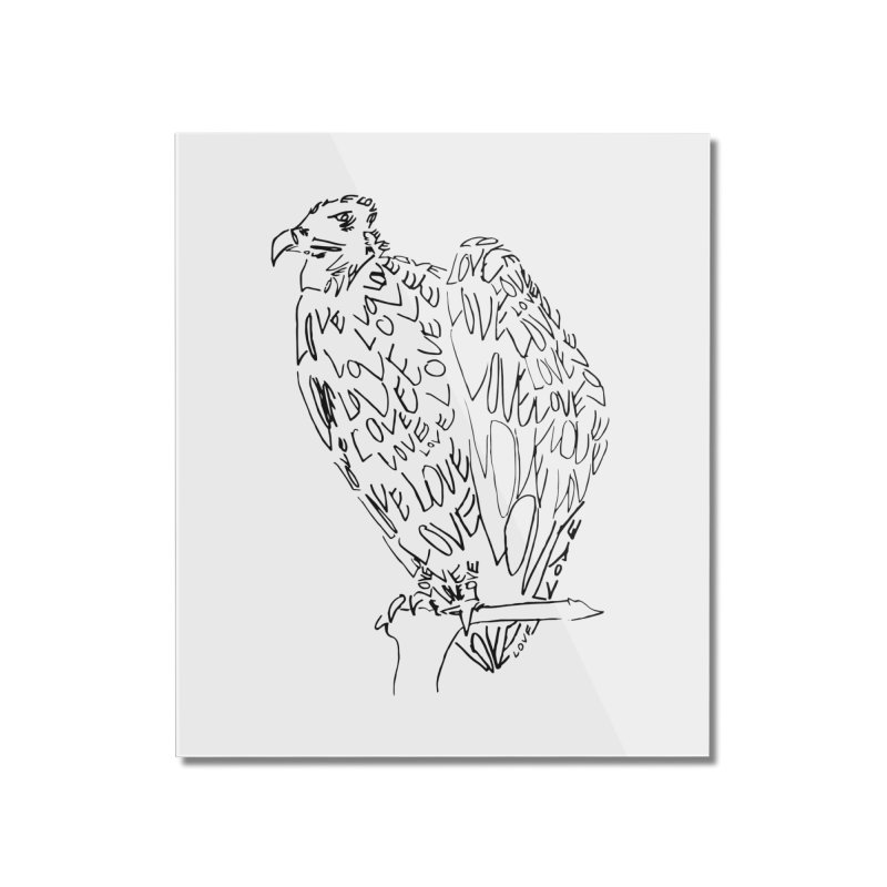 LOVEvulture Home Mounted Acrylic Print by jAM_Aidan Shop