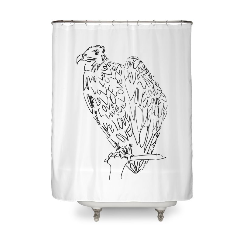 LOVEvulture Home Shower Curtain by jAM_Aidan Shop