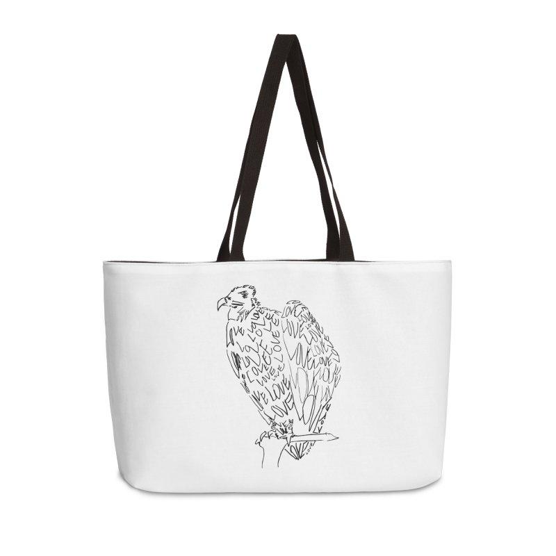 LOVEvulture Accessories Weekender Bag Bag by jAM_Aidan Shop