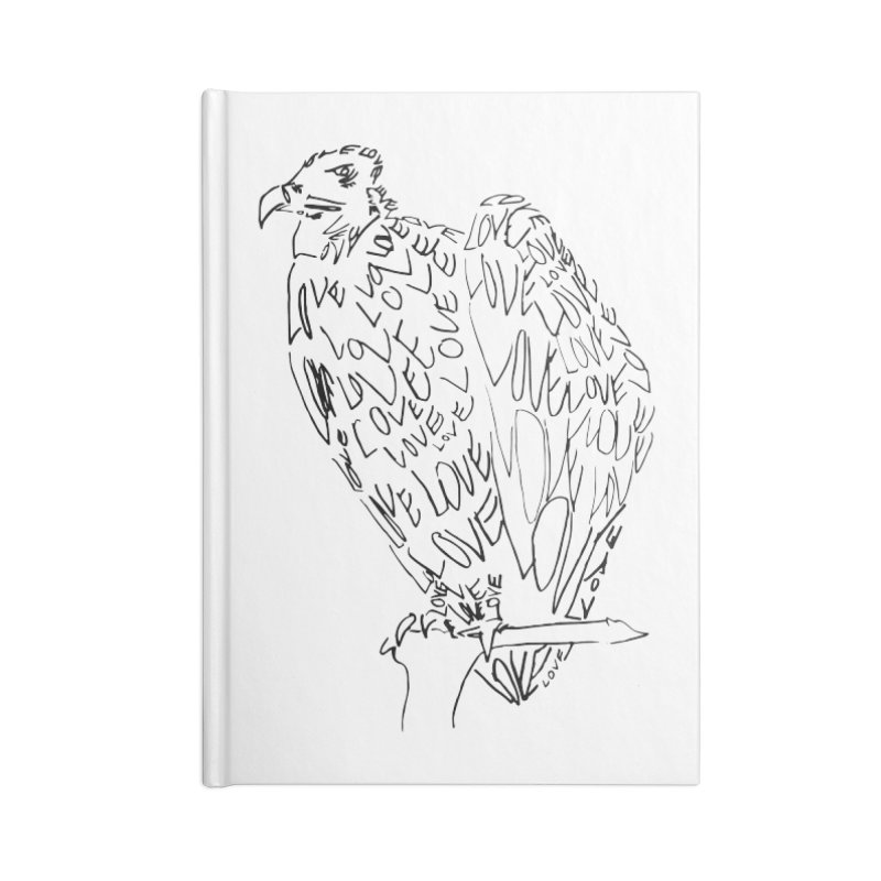 LOVEvulture Accessories Blank Journal Notebook by jAM_Aidan Shop