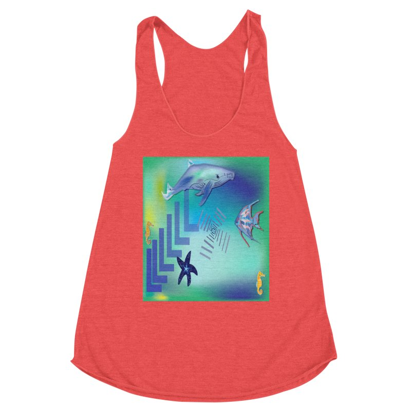 Starfish Women's Tank by jamdigitalart's Artist Shop