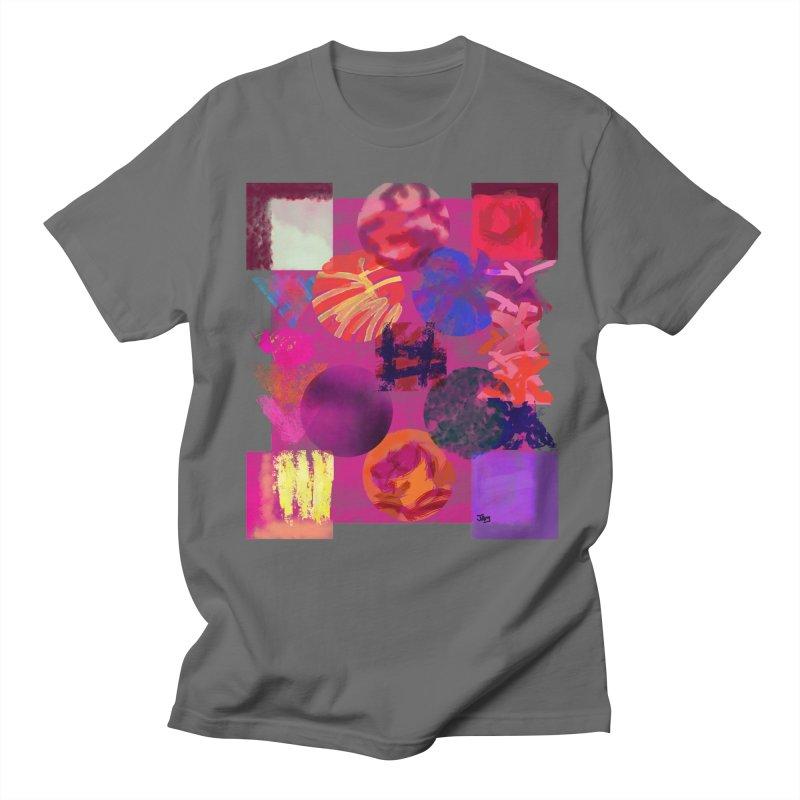 colored washes Men's T-Shirt by jamdigitalart's Artist Shop
