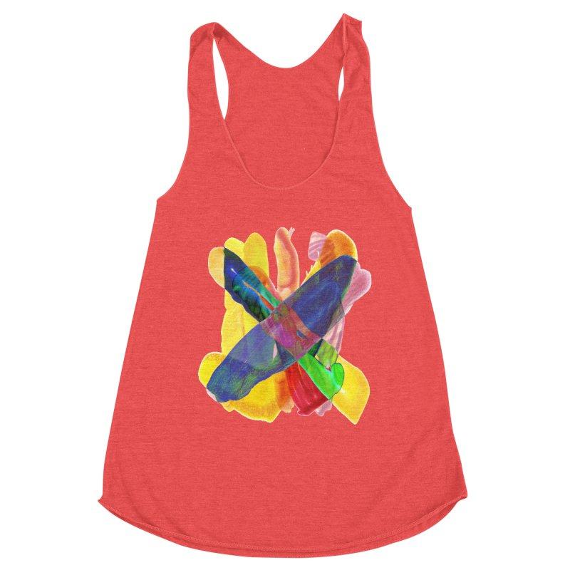 tilt colors Women's Tank by jamdigitalart's Artist Shop