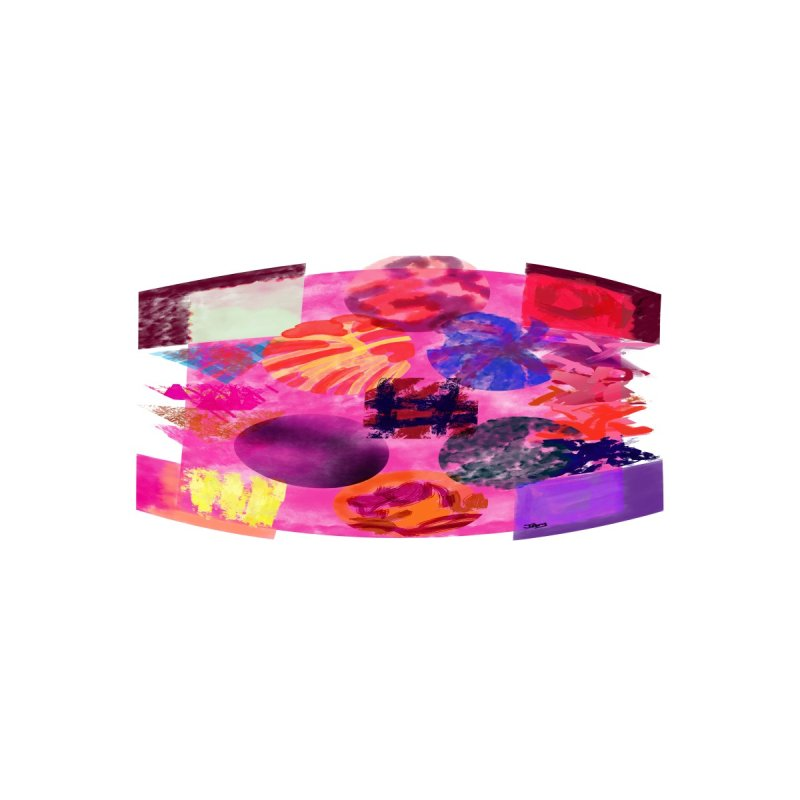 shapes and colors mask Accessories Face Mask by jamdigitalart's Artist Shop
