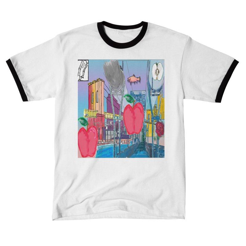 ny flag design Women's T-Shirt by jamdigitalart's Artist Shop