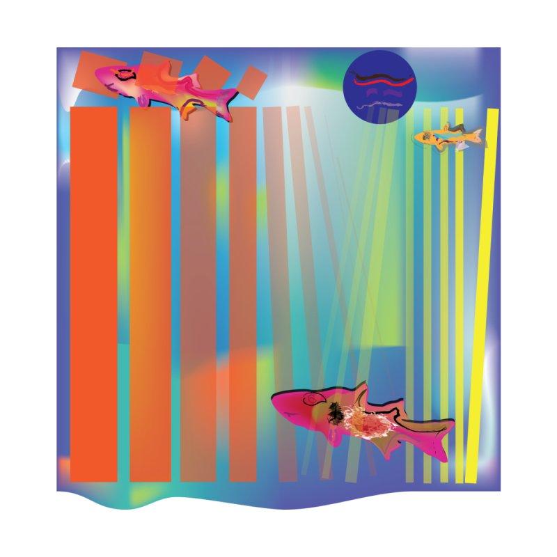 Blocks and Fish by jamdigitalart's Artist Shop