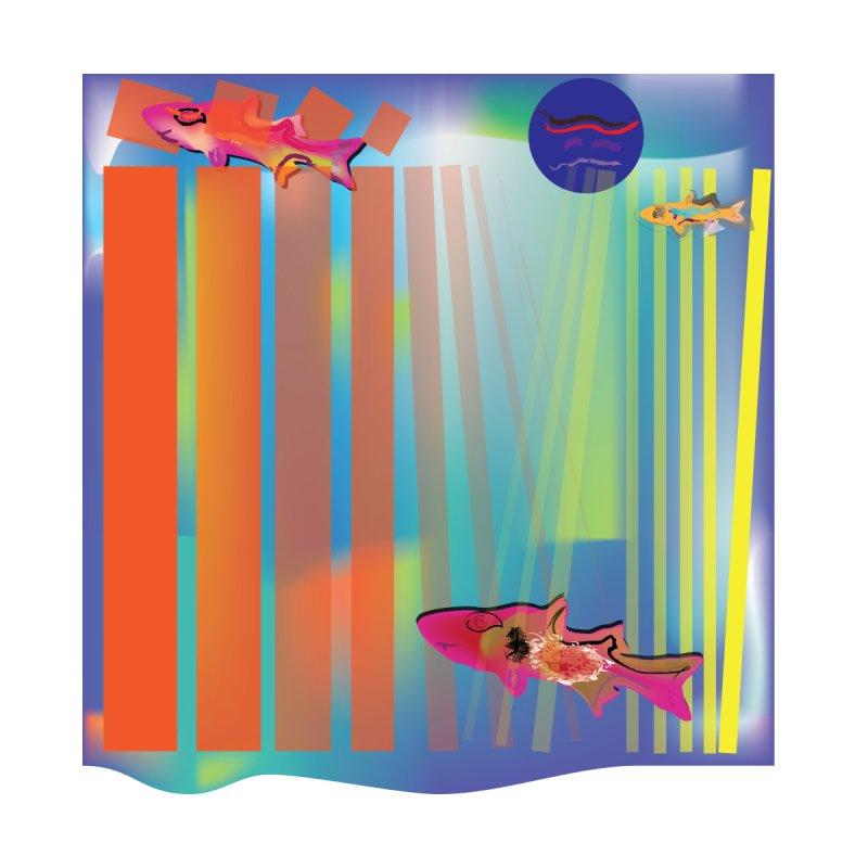 blocks and Fish for wall art by jamdigitalart's Artist Shop