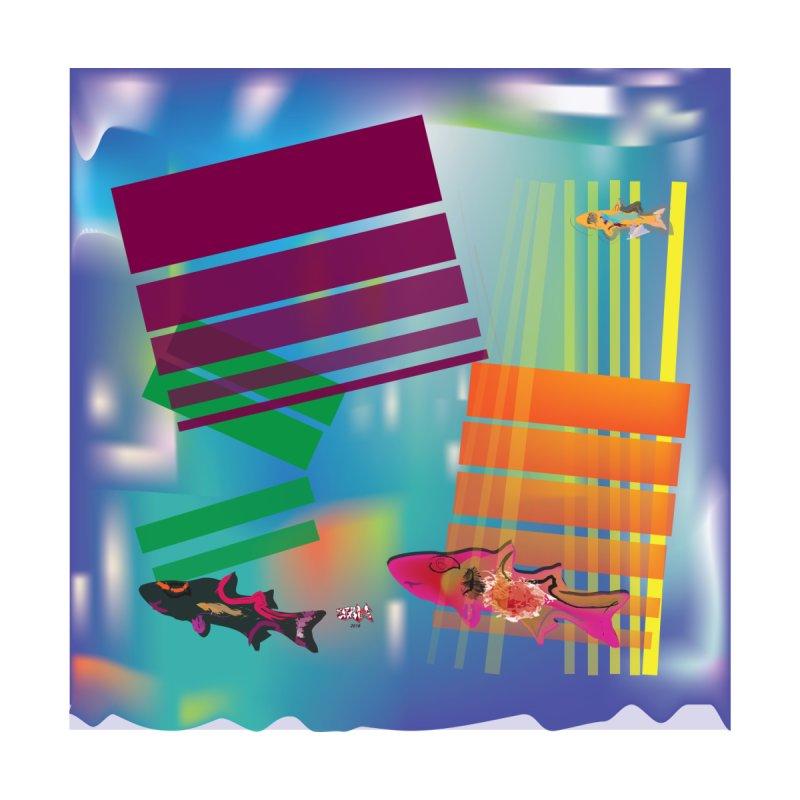 Blocks and Purple Fish by jamdigitalart's Artist Shop
