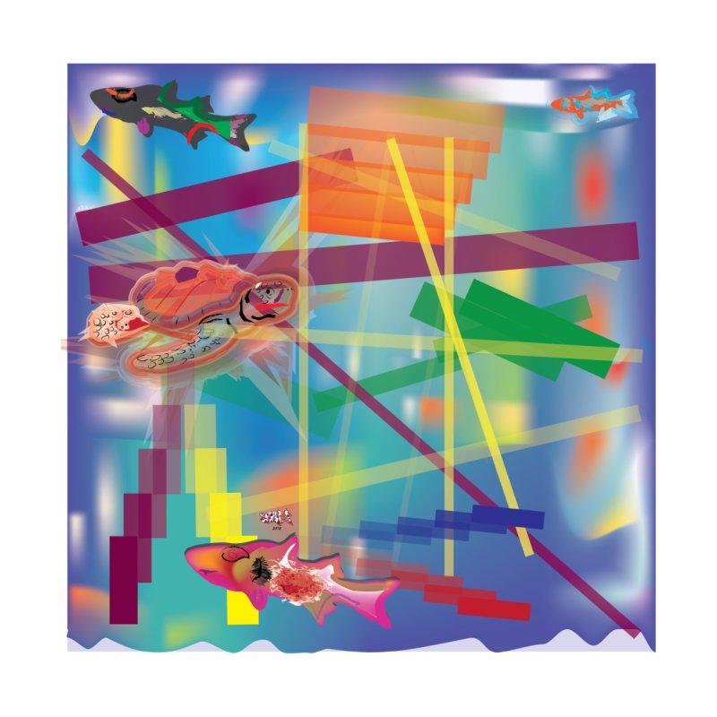 Turtle and Fish by jamdigitalart's Artist Shop