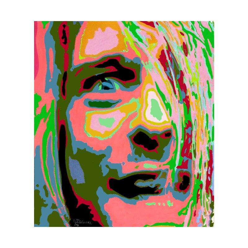 Kurt Cobain Portrait 2014 Men's Cut & Sew by James DeWeaver - Artist - Official Merchandise