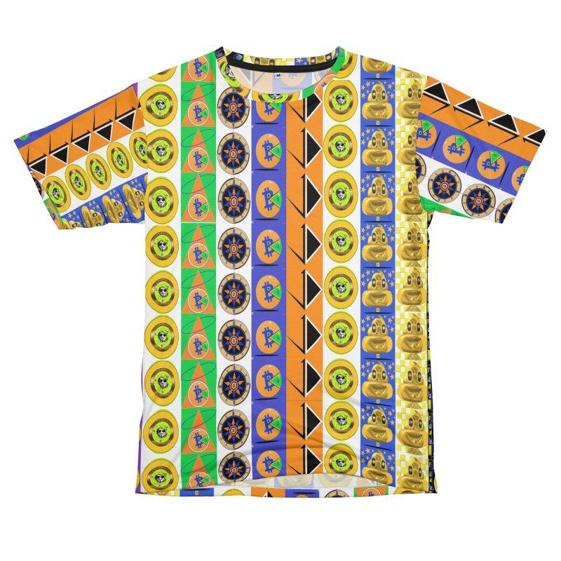 Bitcoin Crazy Mix 2019 Men's Cut & Sew by James DeWeaver - Artist - Official Merchandise