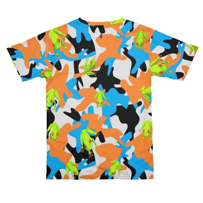 Tree frogs on camo 2019 Men's Cut & Sew by James DeWeaver - Artist - Official Merchandise