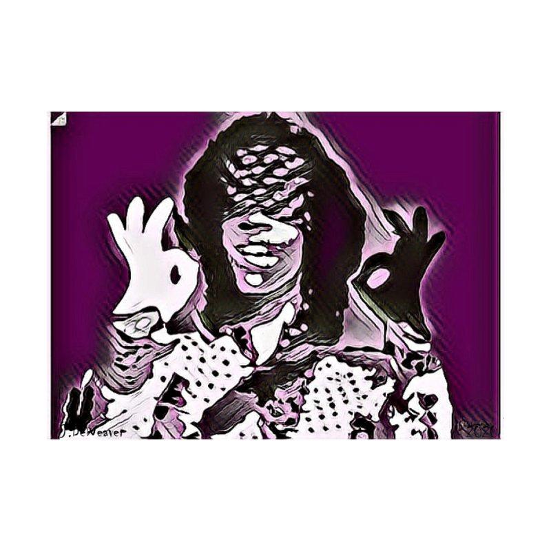 Prince #2 2020 Purple Prince Men's T-Shirt by James DeWeaver - Artist - Official Merchandise