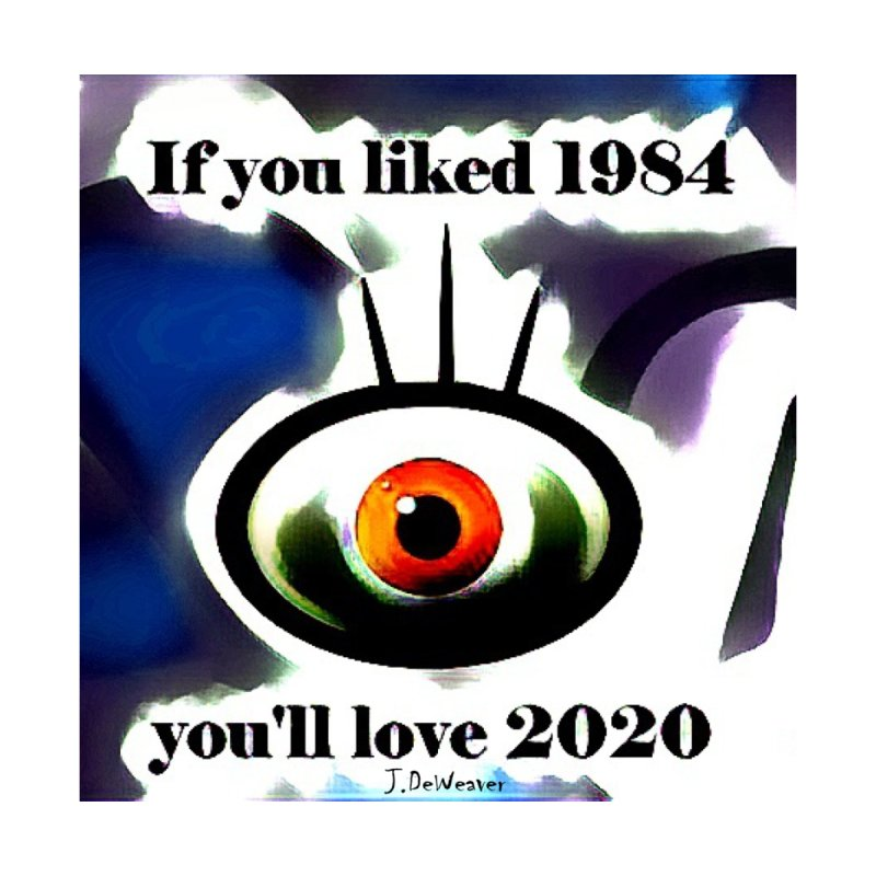 If you liked 1984 you'll love 2020  (Blue) Men's T-Shirt by James DeWeaver - Artist - Official Merchandise