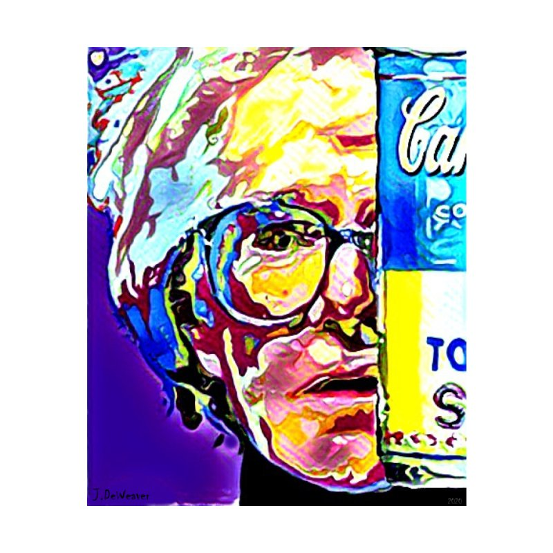 Immortal Andy Warhol 2020 Men's T-Shirt by James DeWeaver - Artist - Official Merchandise