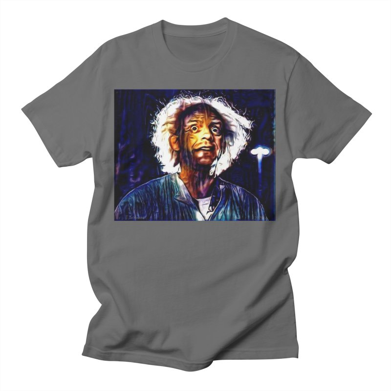 Doc Emmett Brown Back To The Future 2020 Men's T-Shirt by James DeWeaver - Artist - Official Merchandise