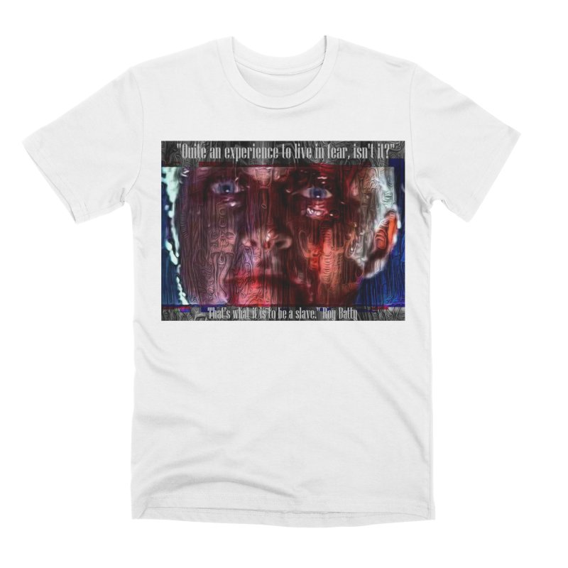 Blade runner Roy Batty quote 2020 Men's T-Shirt by James DeWeaver - Artist - Official Merchandise