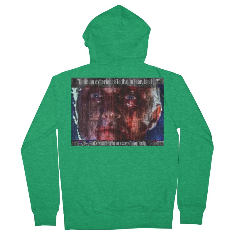 Blade runner Roy Batty quote 2020 Men's Zip-Up Hoody by James DeWeaver - Artist - Official Merchandise