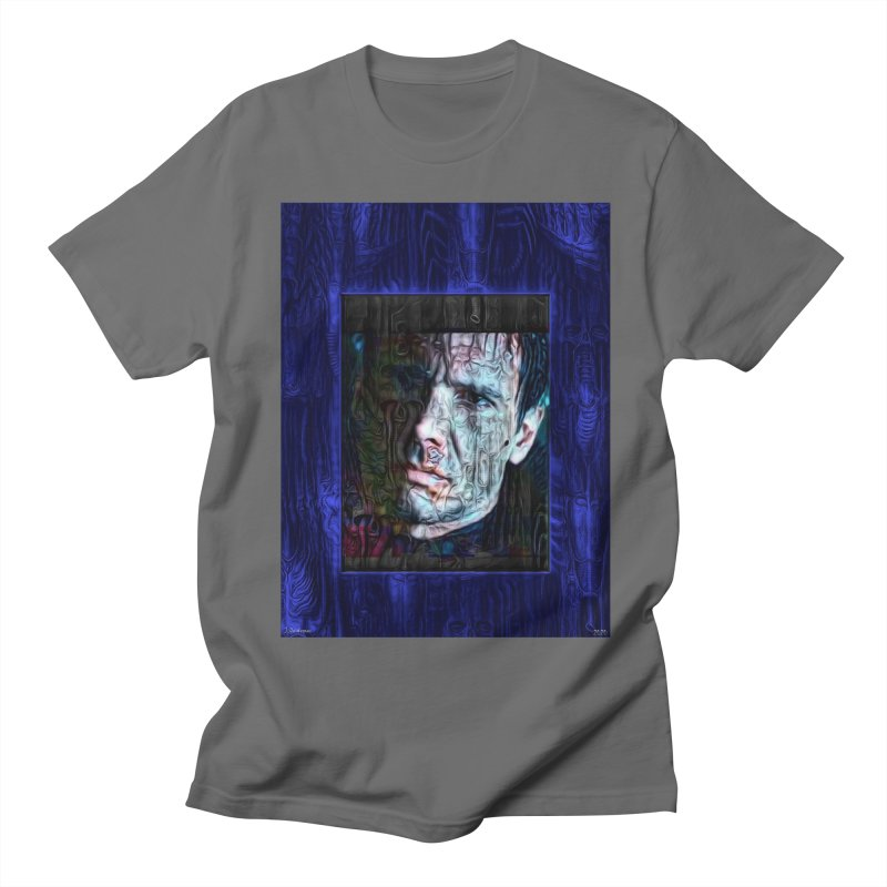 Rick Deckard aka Harrison Ford Blade runner 2020 Men's T-Shirt by James DeWeaver - Artist - Official Merchandise