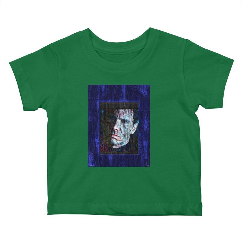 Rick Deckard aka Harrison Ford Blade runner 2020 Kids Baby T-Shirt by James DeWeaver - Artist - Official Merchandise