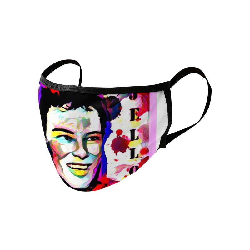 Jello Biafra 2020 Accessories Face Mask by James DeWeaver - Artist - Official Merchandise