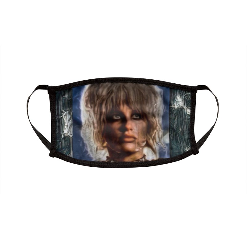 Pris - Blade Runner - Beautiful & Deadly 2020 Accessories Face Mask by James DeWeaver - Artist - Official Merchandise