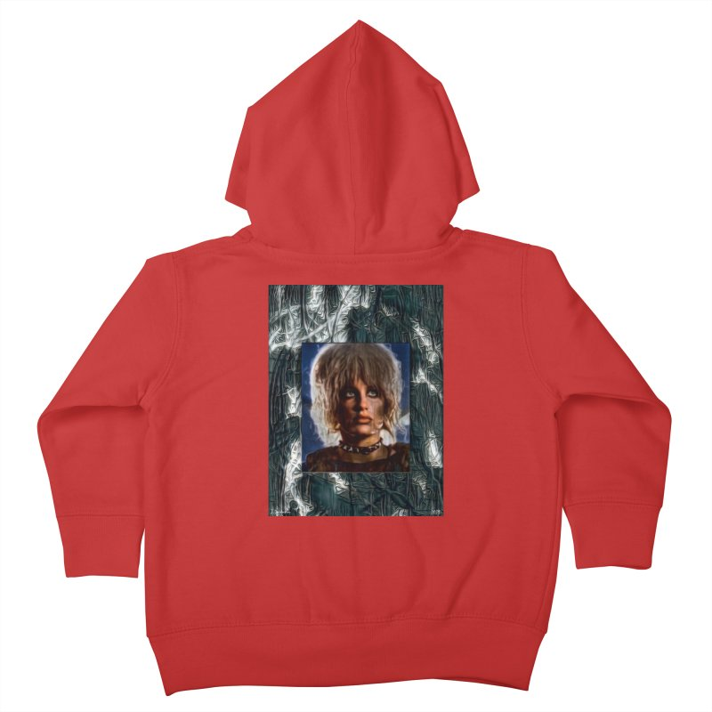 Pris - Blade Runner - Beautiful & Deadly 2020 Kids Toddler Zip-Up Hoody by James DeWeaver - Artist - Official Merchandise