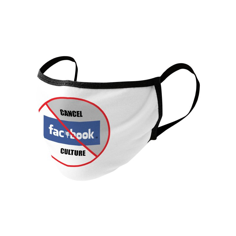 Cancel Culture #1 2020 Accessories Face Mask by James DeWeaver - Artist - Official Merchandise