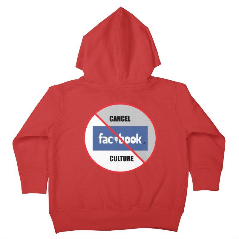 Cancel Culture #1 2020 Kids Toddler Zip-Up Hoody by James DeWeaver - Artist - Official Merchandise