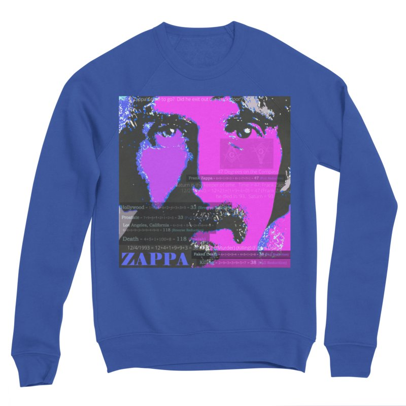 Frank Zappa Gematria Art 2020 Women's Sweatshirt by James DeWeaver - Artist - Official Merchandise