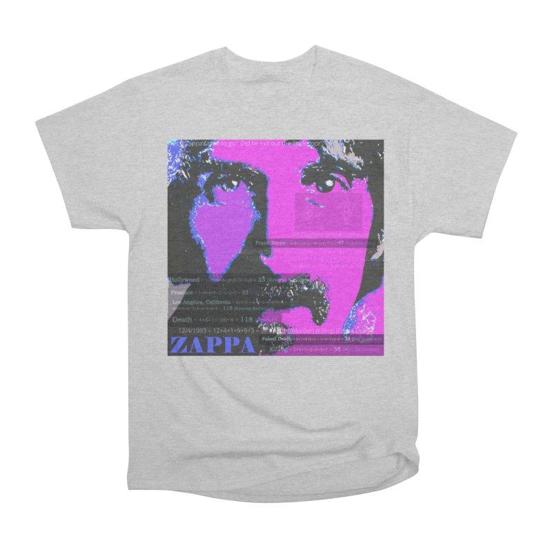 Frank Zappa Gematria Art 2020 Men's T-Shirt by James DeWeaver - Artist - Official Merchandise