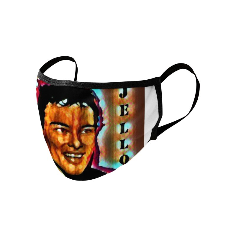 Jello Biafra watercolor Art 2020 Accessories Face Mask by James DeWeaver - Artist - Official Merchandise