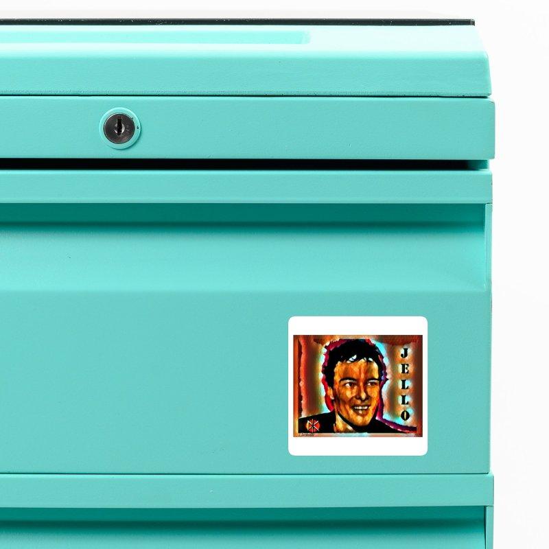 Jello Biafra watercolor Art 2020 Accessories Magnet by James DeWeaver - Artist - Official Merchandise