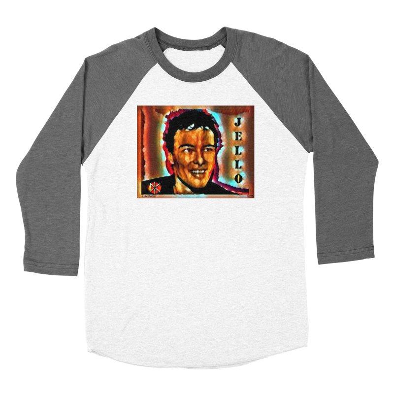 Jello Biafra watercolor Art 2020 Women's Longsleeve T-Shirt by James DeWeaver - Artist - Official Merchandise